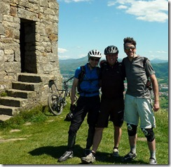 The 3 amigo's before the last descent